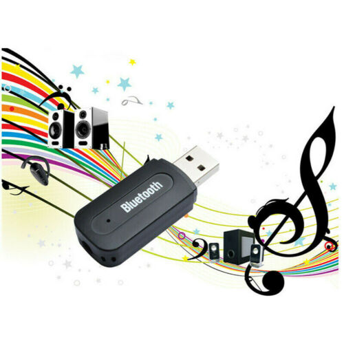 Mini USB Wireless Bluetooth 3.5mm Aux Stereo Audio Home Car Receiver Adapter