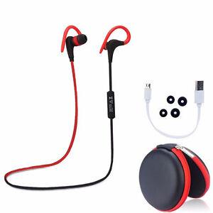 Wireless Sport Stereo Sweatproof Bluetooth Earphone Headphone Earbuds Headset US