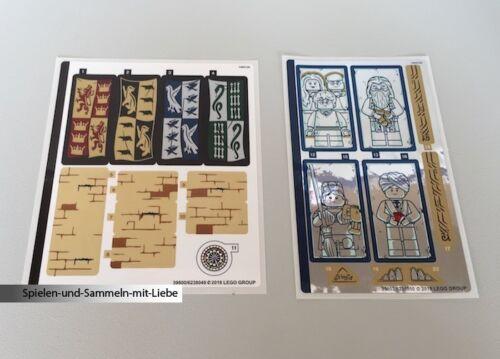 LEGO® AUFKLEBER AUS SET HARRY POTTER 75954 HOGWARTS GREAT HALL NEU