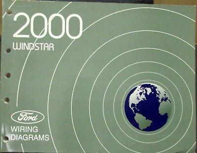 2000 ford windstar van wiring electrical shop manual