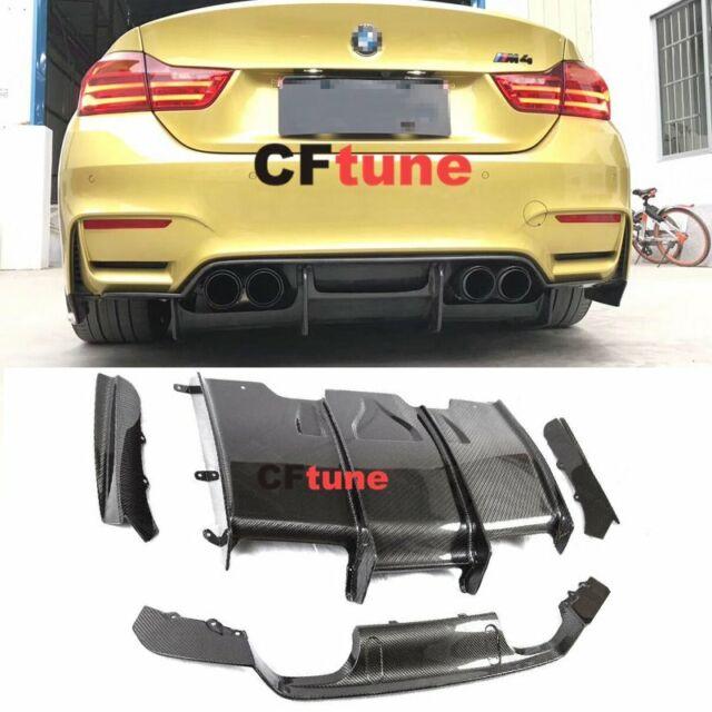 Top 15-17 BMW F80 M3 M4 Performance Carbon Fiber Rear Bumper Diffuser CE