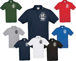 Bomberos-Estampado-Camiseta-Polo-B-amp-c-Azafran-Polo-con-Kragen