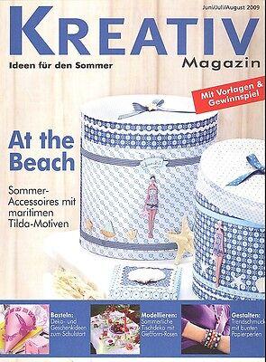 Kreativ Magazin - Ideen für den Sommer Juni/Juli/August 2009