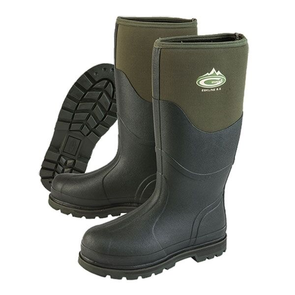Grubs Eskline 8.5 Wellington Stiefel - Grün - Shooting Field Stiefel