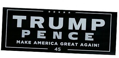 DONALD TRUMP BUMPER STICKER DECAL KEEP AMERICA GREAT 2020 3X6 INCHES MAGA