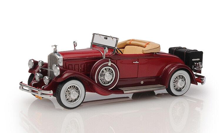 1:43 ESVAL MODELS EMU 43006 a 1930 PIERCE ARROW MODEL B Roadster Top Down * Neuf dans sa boîte *   De Grandes Variétés