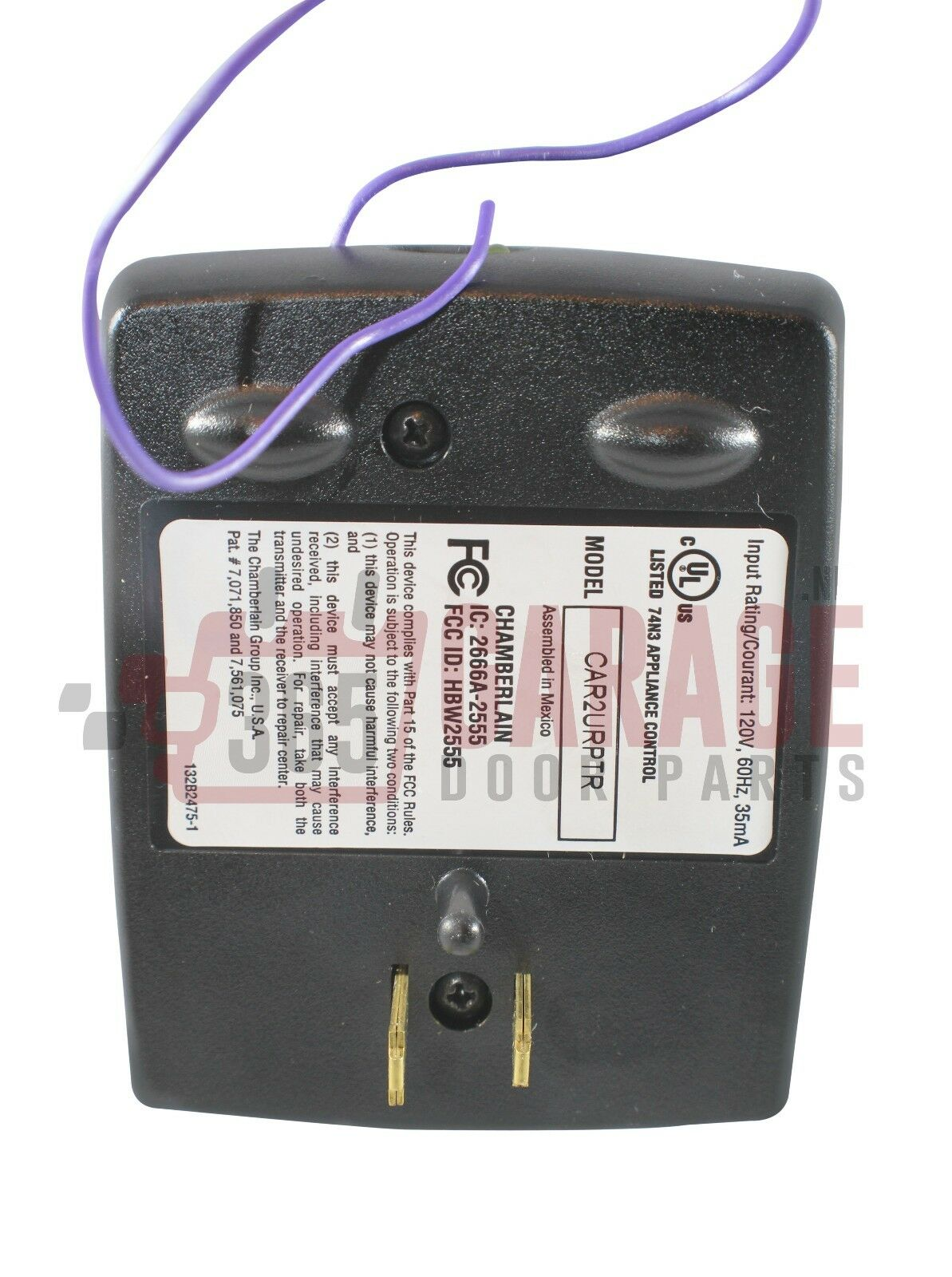Car2u Repeater For Security 2 0 Garage Opener