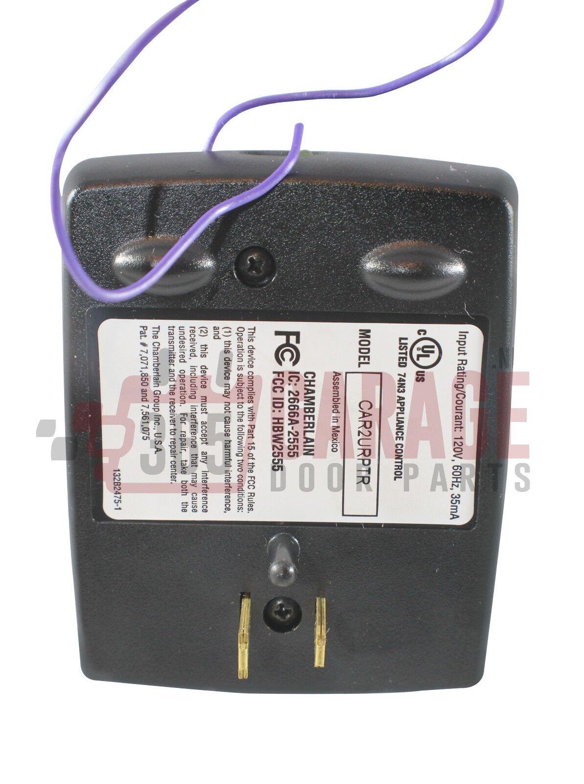 Car2u Repeater For Security 2 0 Garage Opener Liftmaster