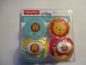 Fisher Price Orthodontic Pacifier & Holder Set of 2 BPA ...