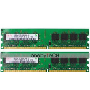 Para-Hynix-8GB-2x4GB-PC2-6400-DDR2-800-240-Pines-Zocalo-AM2-Para-Chipset-Amd-Mb-Ram