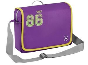 Original-Mercedes-Benz-Escuela-Hombro-Rinonera-Estilo-Deportiva-Kids-Purpura