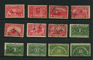 U127-United-States-early-Parcel-Post-selection-see-scan-12v