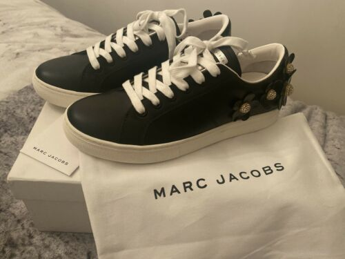 Marc Jacobs Black Daisy Trainers / Sneakers UK 7 / EU 40