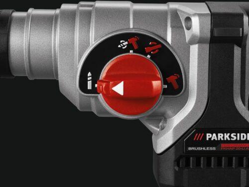 PARKSIDE PERFORMANCE Perforateur-burineur sans fil avec SDS-plus PKHAP 20-Li A1,