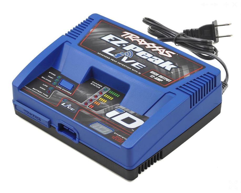Traxxas 2971 EZ-Pico Vivo Multi-química Cargador De Batería Con Auto ID 4S 12A 100W