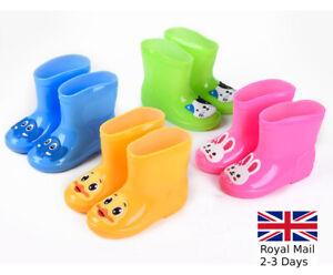 BOYS-GIRLS-KIDS-CHILDREN-WELLINGTON-BOOTS-WELLIES-RAIN-SNOW-BOOTS-SHOES-SIZE