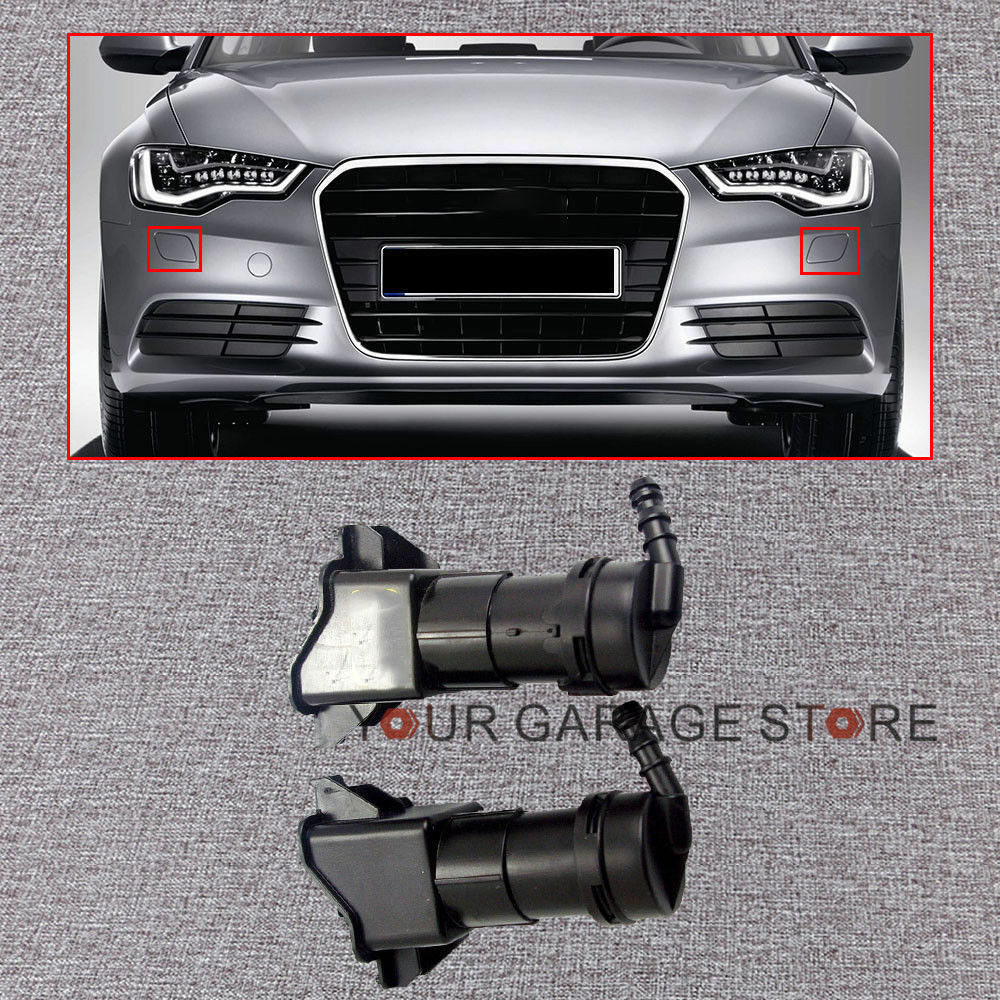 SWRA Scheinwerferreinigung Teleskopdüse für Audi A6 4F Vorfacelift links