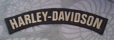 HARLEY-DAVIDSON MOTORCYCLE EMBROIDERED BADGE LEATHER JACKET VEST LOGO BIG PATCH
