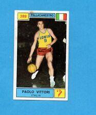 CAMPIONI SPORT 1969-70-PANINI-Figurina n.289- VITTORI-ITALIA-PALLACANESTRO-Rec