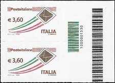 Italia 2013 Codice a Barre 1530 Posta Italiana ordinaria 3,60 nuovo MNH**