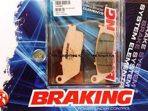 FÜR YAMAHA WR X 125 2010 10 Bremsklötze Bremsbeläge VORNE SINTER BRAKING