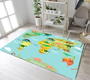 Anti Skid Area Rug Room Carpet Bedroom