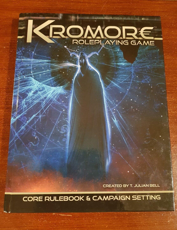 Kromore GN Jeu-Core Règle & campagne Setting RPG cartonnée couleur