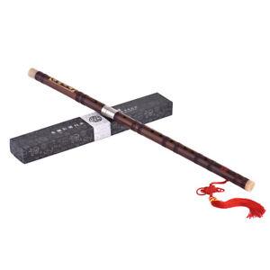 Flûte de bambou amère enfichable Dizi Instrument de bois traditionnel U4T2