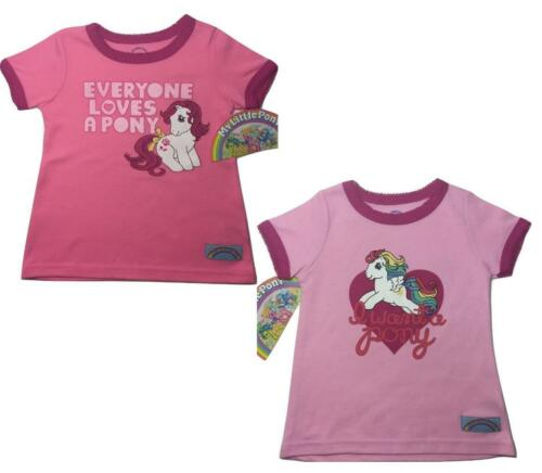 2pc LOT NEW SIZE 18 MONTHS TODDLERS BABY GIRLS MY LITTLE PONY SHIRT WANT /& LOVE