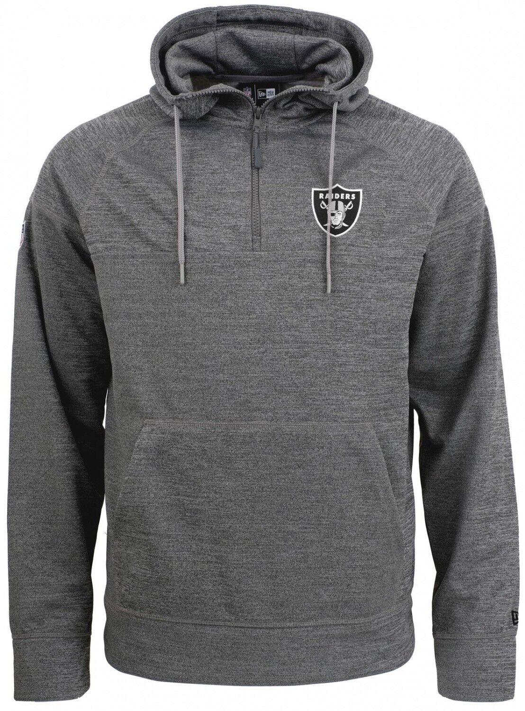 New Era - NFL Oakland Raiders Jersey Zip Hoodie - Grau