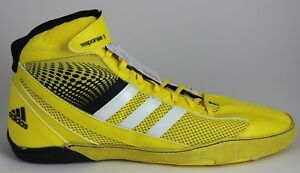 Details about Men's Adidas Response 3.1 Wrestling Shoes YellowWhiteBlack M18789 Brand New
