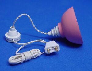 Heidi Ott Dollhouse Miniature Light 1:12 Scale Ceiling Lamp #YL5012AG
