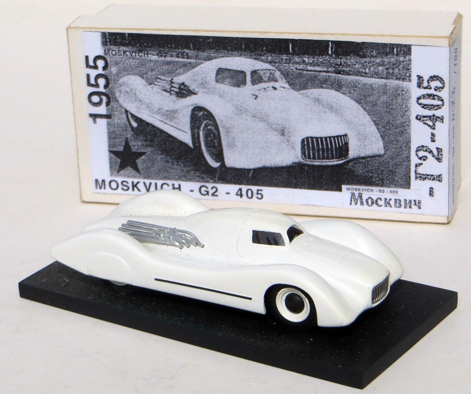 Obtén lo ultimo 1955 G2 405 velocidad velocidad velocidad de tierra Soviética Moskvich registro contendiente por Vernouillet  A la venta con descuento del 70%.