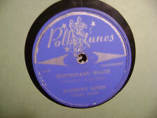 POLKATUNES 78 RECORD/HARMONY KINGS/RAIN RAIN POLKA/WINTERLAND WALTZ/ VG+