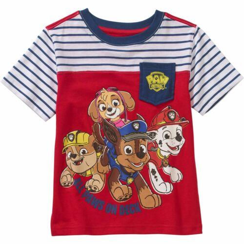 Nickelodeon Paw Patrol Short Sleeve T Shirt Boy Size 5T