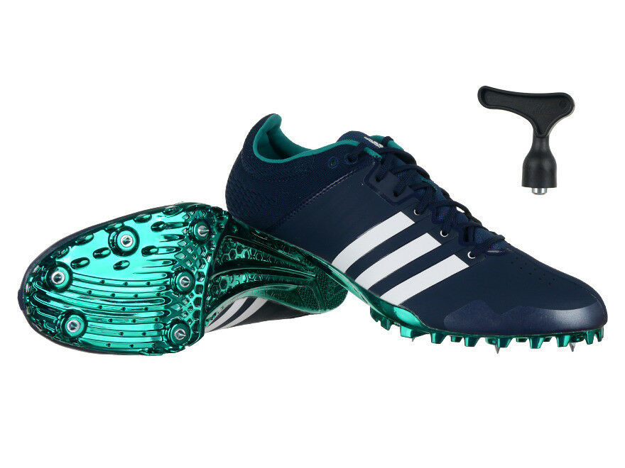 Womens Mens adidas AdiZero Finesse Short Mid Distance Running Spikes shoes
