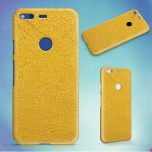 YELLOW-SURFACE-HARD-BACK-CASE-FOR-GOOGLE-PIXEL-PHONE