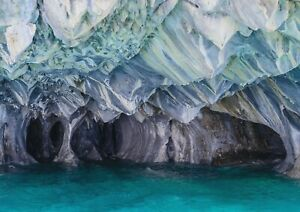 A1-Amazing-Marble-Cave-Poster-Size-60-x-90cm-Nature-Wall-Decor-Gift-14208