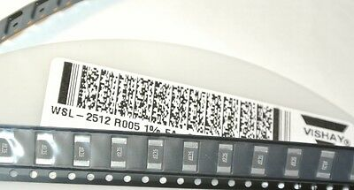 *NEW* 10//PKG Metal Strip DALE WSL2512  .005 OHM 1W 1/% CURRENT SENSE RESISTOR