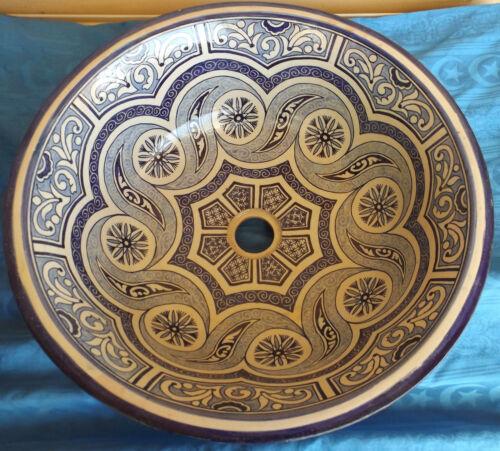 Handwaschbecken Waschbecken Aufbauwaschbecken Keramik blaubunt XL1 Orientalisch