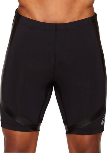 Black Asics Moving Sprinter Mens Short Running Tights