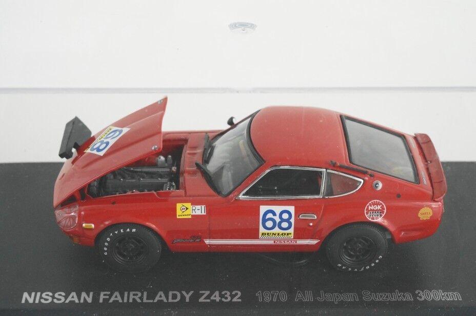 Kyosho 1 43 Nissan Fairlady Z432R todo Japón Suzuka 1000 km 1970 No.68