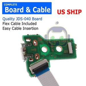 USB-Charging-Port-Board-JDS-040-for-SONY-PS4-Controller-12-pin-CABLE