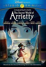 The Secret World of Arrietty DVD, Carol Burnett, Moises Arias, Will Arnett READ