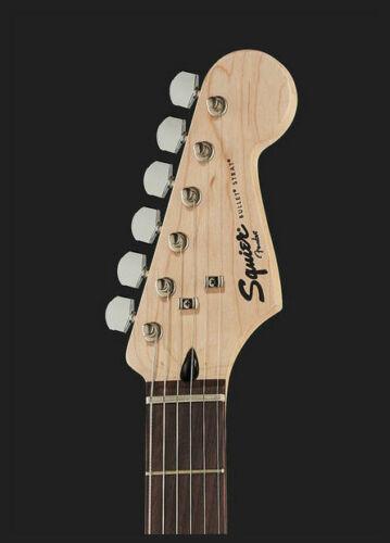 chitarra elettrica Nuova! SQUIER by FENDER STRATOCASTER BULLET w//Tremolo BLACK