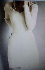 VICTORIA'S SECRET Kiss Of Cashmere V-Neck Ribbed Sweaterdress Longsleeve SZ-M