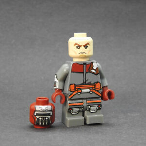 Custom Star Wars minifigures Young Clone Wars Boba Fett v2 on lego brand bricks