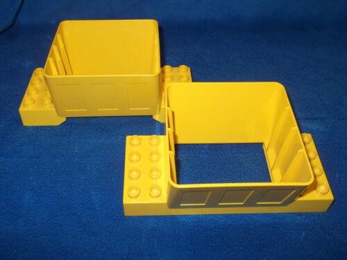 Lego Duplo Kugelbahn Trichter gelb 2 X Schütte Eisenbahn 3618 3102524 31025