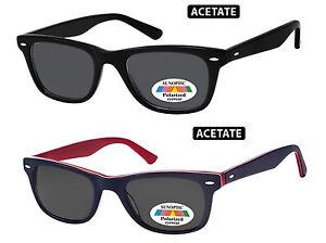 Occhiali-da-Sole-Polarizzati-UV-400-da-Uomo-Retro-Vintage-in-Acetato-Sunoptic