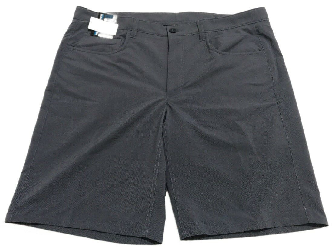 NEW Roundtree /& Yorke Performance Size 40 Classic Flat Front Men/'s Shorts NWT
